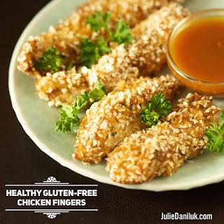 Healthy Gluten-Free Chicken Fingers