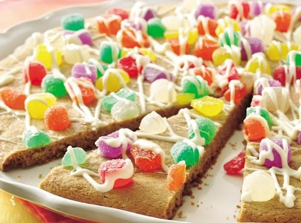Sugarplums Be Dancing On My  Cookie Pizza Recipe