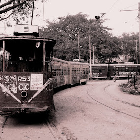 Vintage Vehicle........ by Dipan Chaudhuri - Transportation Other