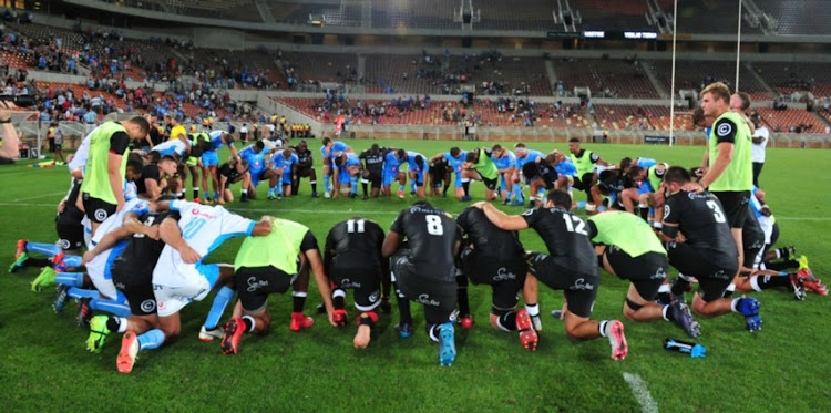 General view after the Super Rugby friendly match between Vodacom Bulls and Cell C Sharks at Peter Mokaba Stadium on January 27, 2018 in Polokwane.