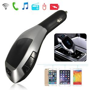 Car Kit Auto Bluetooth X7 cu functie de modulator FM