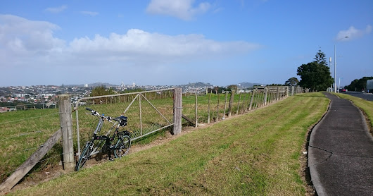 May~Dec 2016 - Cycling around Auckland