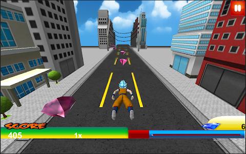 Super Dragon Z Goku Saiyan Fly v1.0 (Mod Gems)
