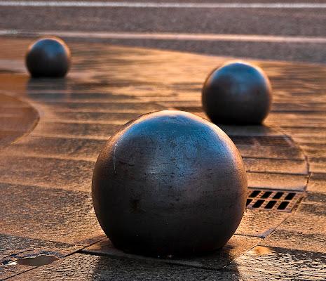 palle di bronzo di sbaruzzi
