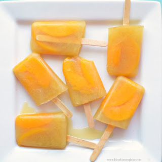 Quick and Easy Peach Pineapple Popsicles