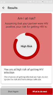 HIV RISK Calculator- screenshot thumbnail