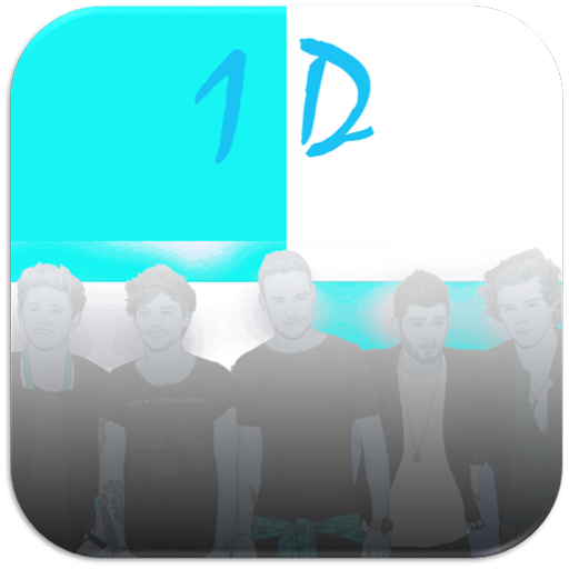 One Direction Piano Tiles 音樂 App LOGO-APP開箱王