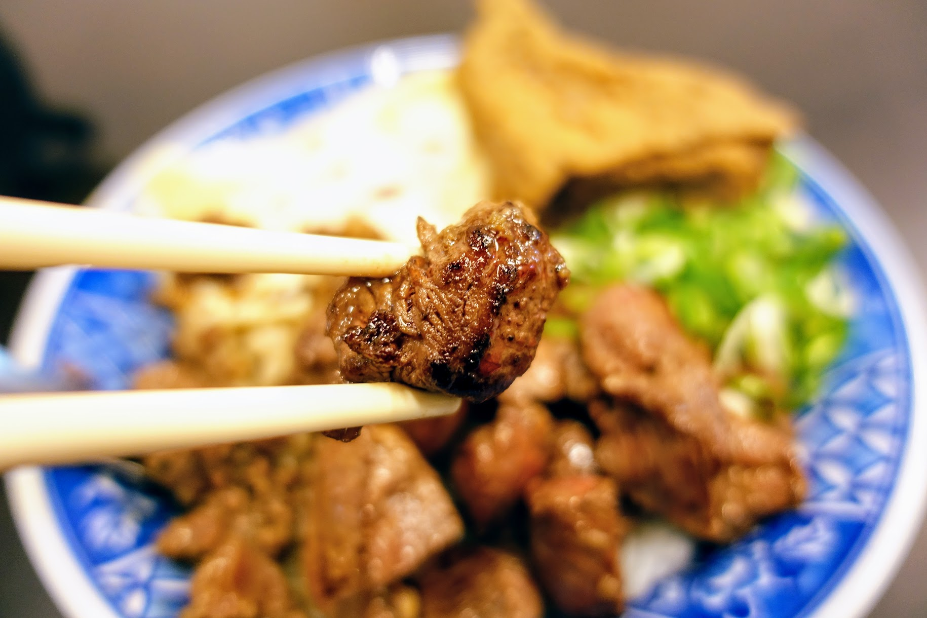 牛肉烤過,還蠻軟嫩的