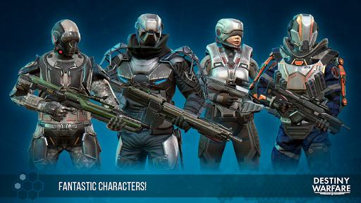 Destiny Warfare: Sci-Fi FPS 1.1.5 screenshots 15