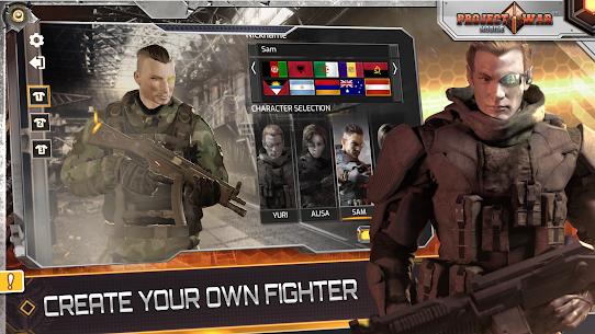 مشروع الحرب للجوال-لعبة إثارة وتصويب على الإنترنت 2