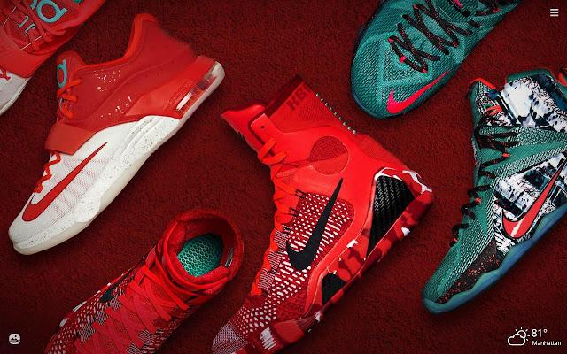 Nike HD Wallpapers New Tab Theme