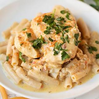Healthy Creamy Italian Crockpot Chicken
