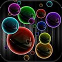 Neon Bubble Live Wallpaper icon