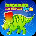 звуки динозавр - детские логические игры icon