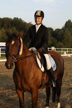 Photo: III m-ce Klasa L4   Katarzyna Bryniczka na koniu JAMAJKA