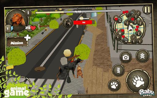 市犬チェイス3D