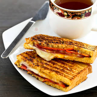 Pepper Jack Grilled Cheese Sandwich.