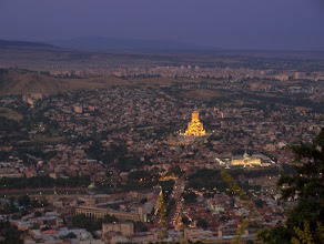 Photo: Tbilisi by night