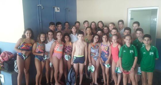 Ilusionante comienzo en el Club Natación Almería