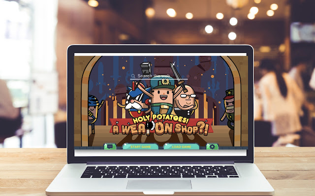 Holy Potatoes! HD Wallpapers Game Theme