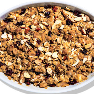 Cranberry-Pear Crumble