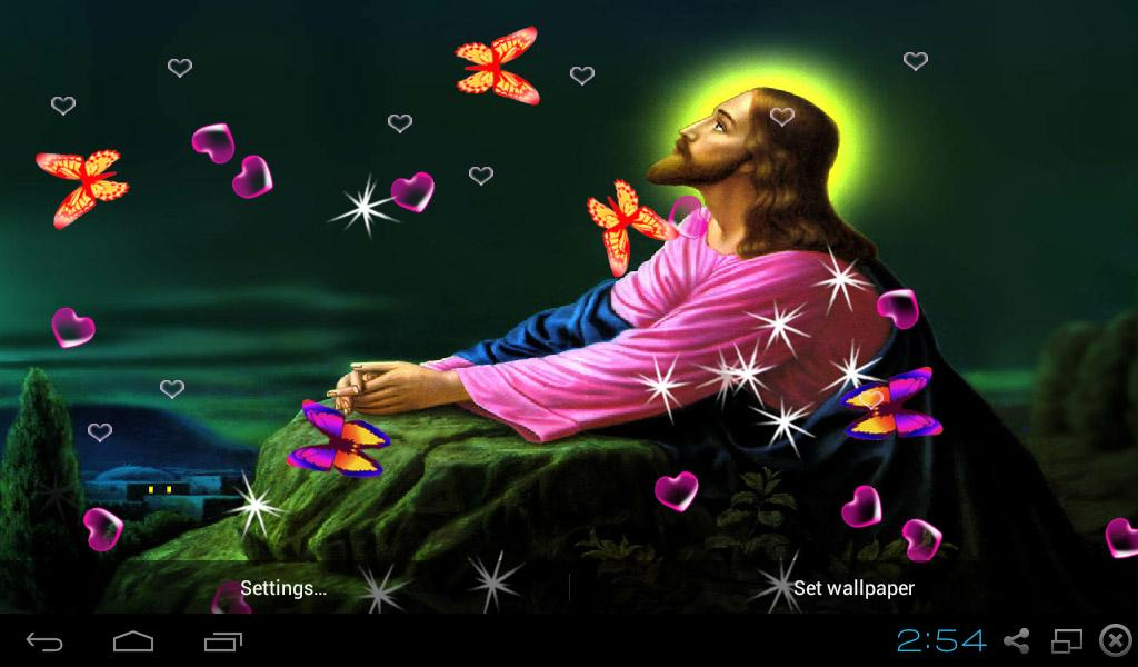 Android Live Wallpaper Quotes 3d Jesus Wallpapers Android Apps On Google Play