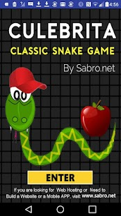 CULEBRITA Classic Snake Game- screenshot thumbnail