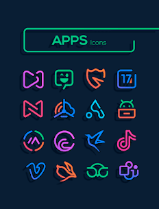 Linebit – Icon Pack (MOD, Paid) v1.5.3 4
