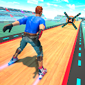 Sky Roller Skate Stunts Racing – Impossible Tracks icon