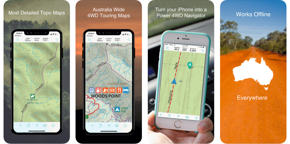 Mud Map Best off-road GPS app for Android and IOS in 2021