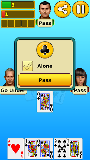 Euchre screenshot