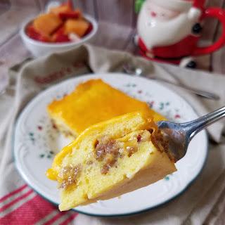 Mom's Overnight Christmas Morning Breakfast Casserole (Strata).