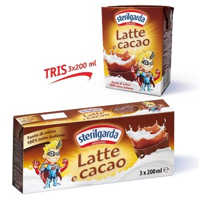 sterilgarda latte y cacao 3und