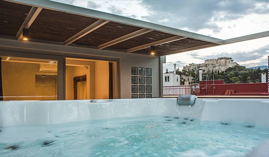 Acropolis Luxury Apartments, The Sidewalk Grand House, Athens
