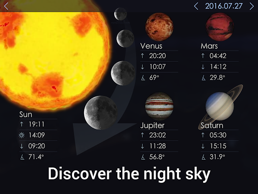 Star Walk 2 Free - Identify Stars in the Sky Map 2.4.5.119 screenshots 15