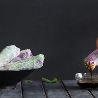 Lamb Kofta With Salad Greens & Roasted Capsicum Hummus