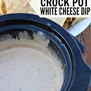 The Best Crock Pot White Cheese Dip Recipe