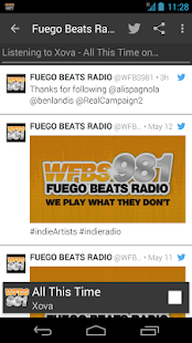 WFBS981 -- Fuego Beats Radio- screenshot thumbnail