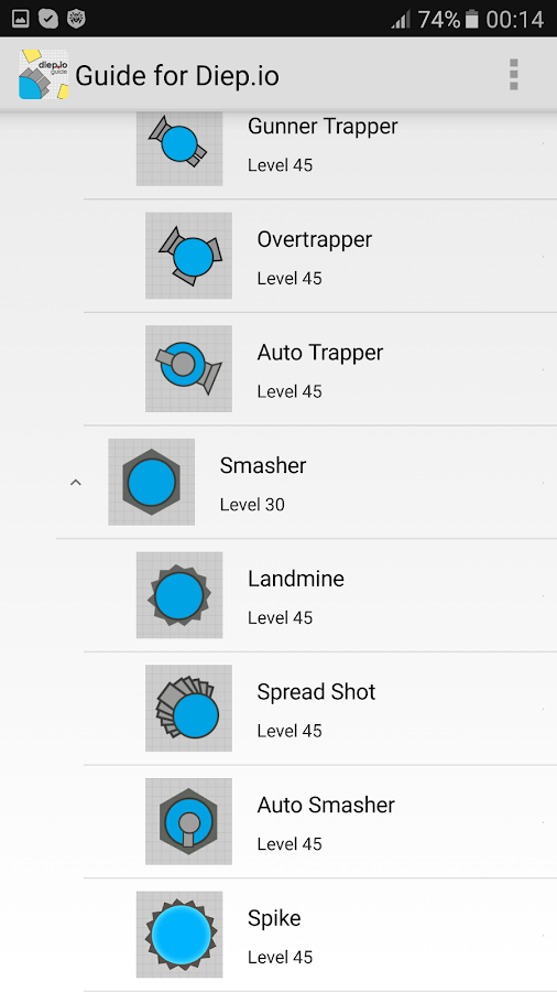 Guide for Diep.io- screenshot
