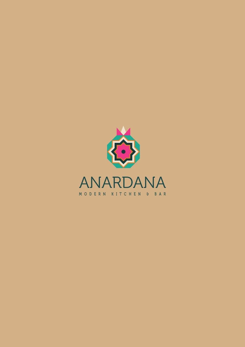 Anardana Modern Kitchen & Bar menu 1