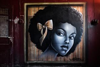 "Photo: *Nikita""  https://www.youtube.com/watch?v=CLet_aHMHbM  Good sunday evening googlers..  #streetart  #streetartsunday  #fujigirlplayingincolors"