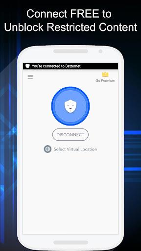 Free VPN – Betternet VPN Proxy & Wi-Fi Security v3.9.7 [Unlocked]