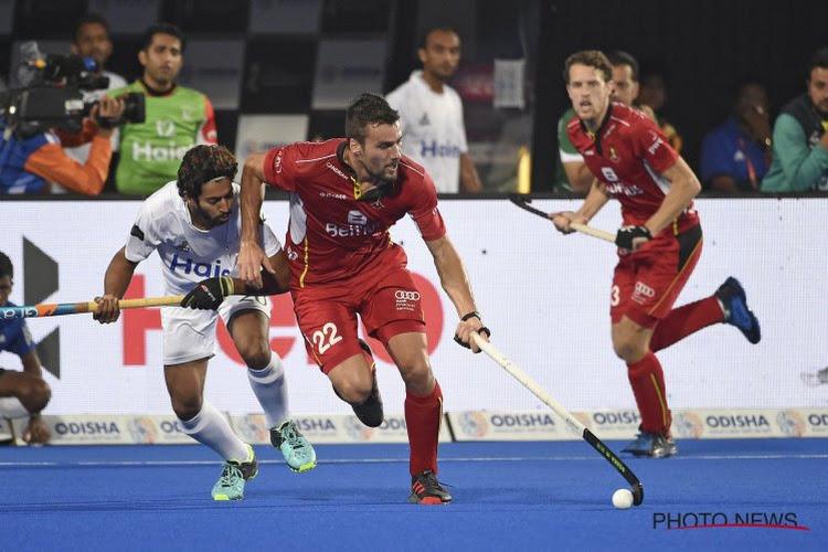 L'homme du match tire le bilan du succès de la Belgique contre le Pakistan
