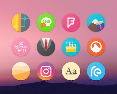 Pixel Icon Pack-Nougat Free UI- miniatura screenshot