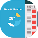New and Weather Panel icon