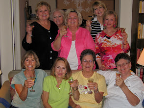 Photo: Celebrating a successful 45th Reunion at Linda (Wilson) Mitchell's home back: Rita (Leeper) Sholund, Rosemary (Worthy) Dooley, Pam (English) Williams, Kathi (Hesson) Curtis, Suzy (Wright) Young front: Linda (Wilson ) Mitchell, Barbara (Novosad) Stueve, Carol (Craven) Barnes, Mary (Traud) Austin Michele (Baldree) Bibb and Melinda (Wright) Young were not able to join us...