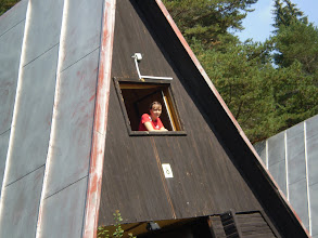 Photo: Deniska v okne
