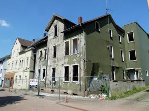 Photo: Das Bauordnungsamt hat eine Frist für den Abriss gesetzt!