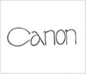 Canon logo evolution: 1935
