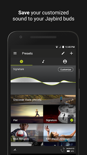 Jaybird MySound  screenshots 1